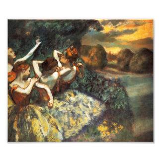 Degas Four Dancers Photo Art