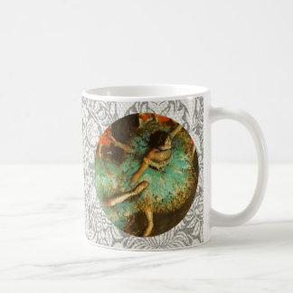 Degas Green Dancer Ballet Impressionist Coffee Mug