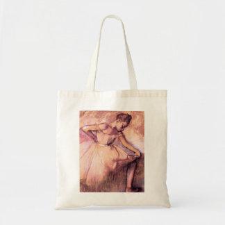 Degas Pink Ballerina Tote Bag