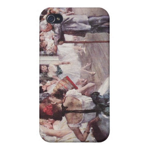 Degas - The Dance Class Art Case For iPhone 4