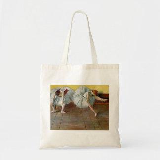 Degas Two Ballet Dancers Tote Bag