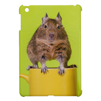 Degu on a Cup Case For The iPad Mini