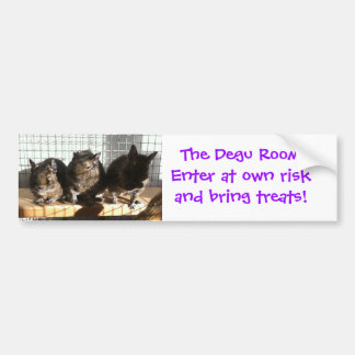 Degu room sticker