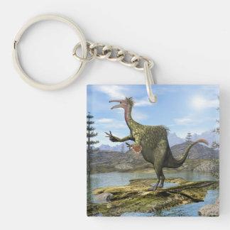 Deinocheirus dinosaur - 3D render Key Ring