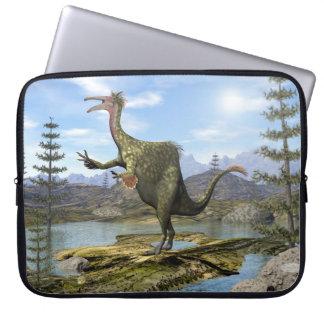 Deinocheirus dinosaur - 3D render Laptop Sleeve