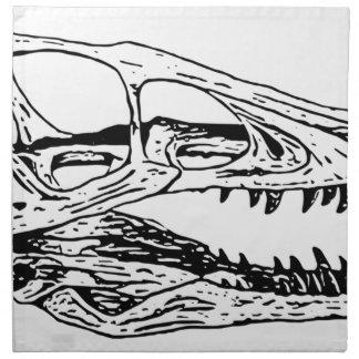 Deinonychus Napkin