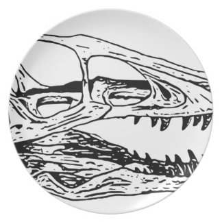 Deinonychus Plate