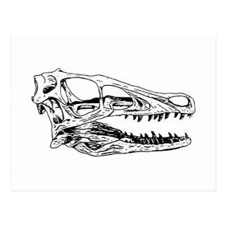 Deinonychus Postcard