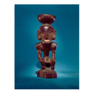 Deity figure , Dominican Republic Postcard