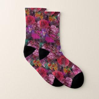 Déjà vu Destroyed Floral Socks! 1