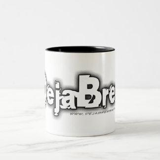 DejaBrew Greyscale Logo Mug