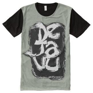 dejavu memory error gray All-Over print T-Shirt