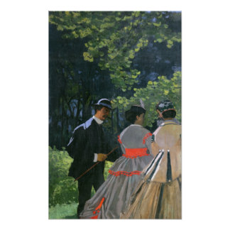 Dejeuner sur L Herbe Chailly 1865 Poster