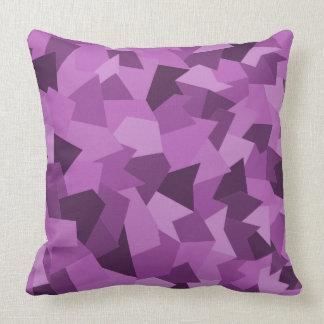 Dekokissen abstract in purple cushion