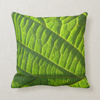 Dekokissen cool, green sheet sample cushion