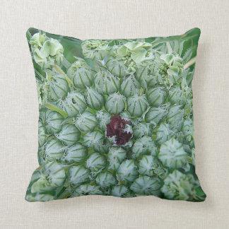 Dekokissen Weis-green game blooms with red center Pillow