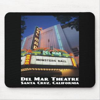 Del Mar theatre, Santa Cruz Mousepad