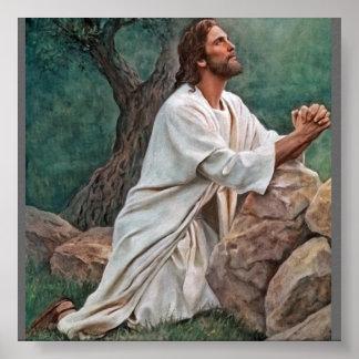 Del_Parson_Prayer_at_Gethsemane_400 Poster