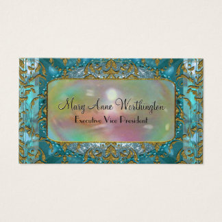 Delancey by the Sea Elegant  Professional Business Card