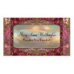 Delancey Petal Elegant  Professional Pack Of Standard Business Cards