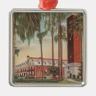 Deland, Florida - View of Stetson University Metal Ornament