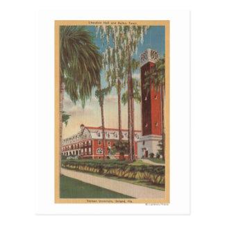 Deland, Florida - View of Stetson University Postcard