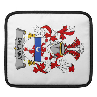 Delaney Family Crest iPad Sleeve