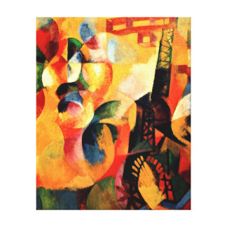 Delaunay - Sun, Tower, Airplane Canvas Print