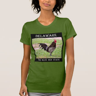 Delaware Blue Hen (Rooster) T-Shirt