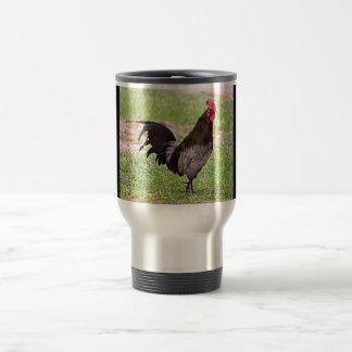 Delaware Blue Hen (Rooster) Travel Mug