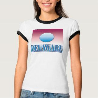 Delaware Blue Sunset Airbrush T-Shirt