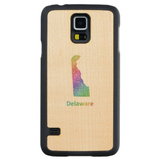 Delaware Carved Maple Galaxy S5 Case