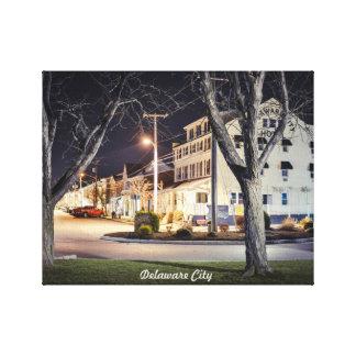 Delaware City. Canvas Print