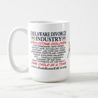 Delaware Divorce Industry. Classic White Coffee Mug