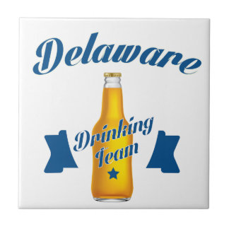 Delaware Drinking team Tile