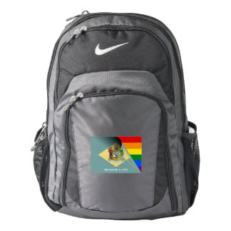 Delaware Flag Gay Pride Rainbow Backpack