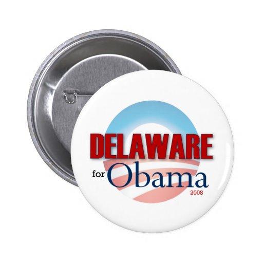 Delaware for Obama Pins