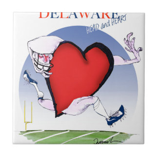 delaware head heart, tony fernandes tile