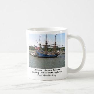 Delaware - Home of Tax Free Shopping ... Basic White Mug