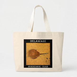 Delaware Horseshoe Crab Large Tote Bag