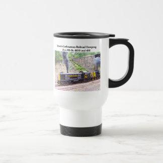 Delaware Lackawanna Railroad Company Alco RS-3s Travel Mug