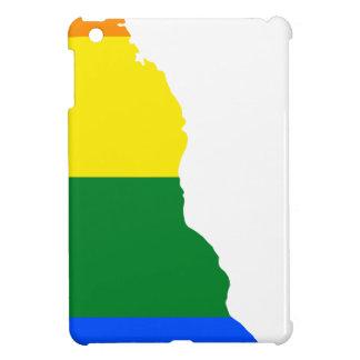 Delaware LGBT Flag Map iPad Mini Cover