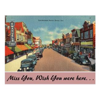 Delaware, Loockerman Street Postcard