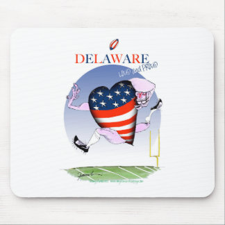 delaware loud and proud, tony fernandes mouse pad