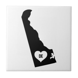 Delaware Love Ceramic Tile