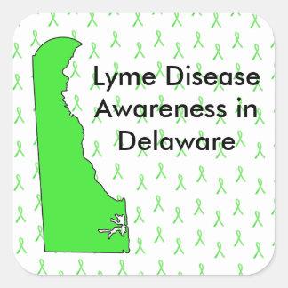 Delaware Lyme Disease Awareness Stickers