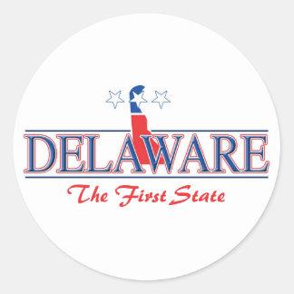 Delaware Patriotic Stickers