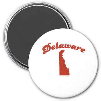 DELAWARE Red State Magnets