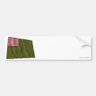 Delaware Regimental Color - Dansey Flag Bumper Stickers