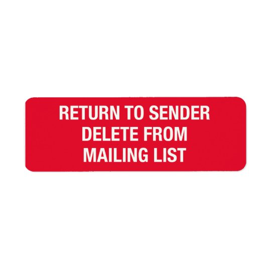 Delete From List Stickers
